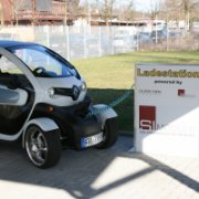 Mobility - Charging station with solar roof for solar cars © Innovation Academy