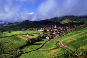 Alsace, typical village © CRTA