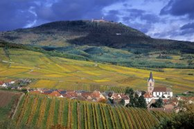 Town of Rodern and Haut-Koenigsbourg © CRTA / Zvardon