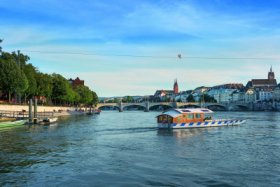 erry boat on the Rhine, Basel © Andreas Zimmermann