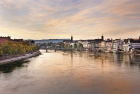 View of the Rhine, Basel © Andreas Zimmermann