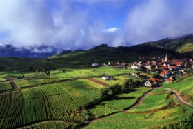Typical villages in Alsace © CRTA