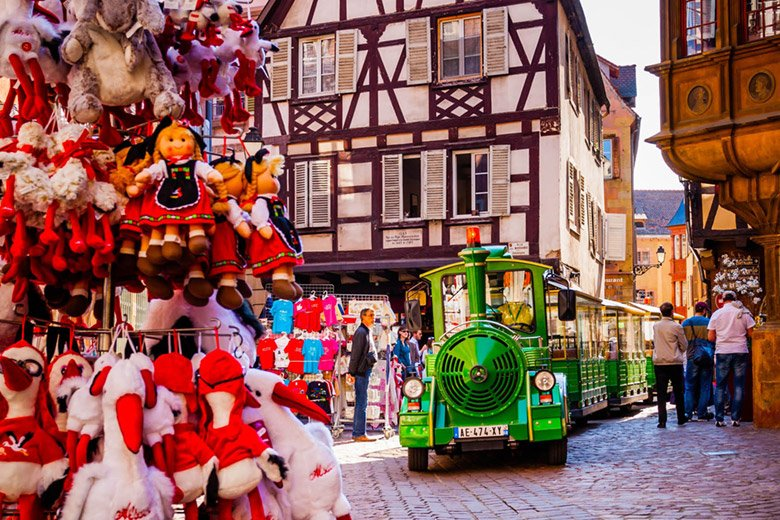 Discover the old town of Colmar