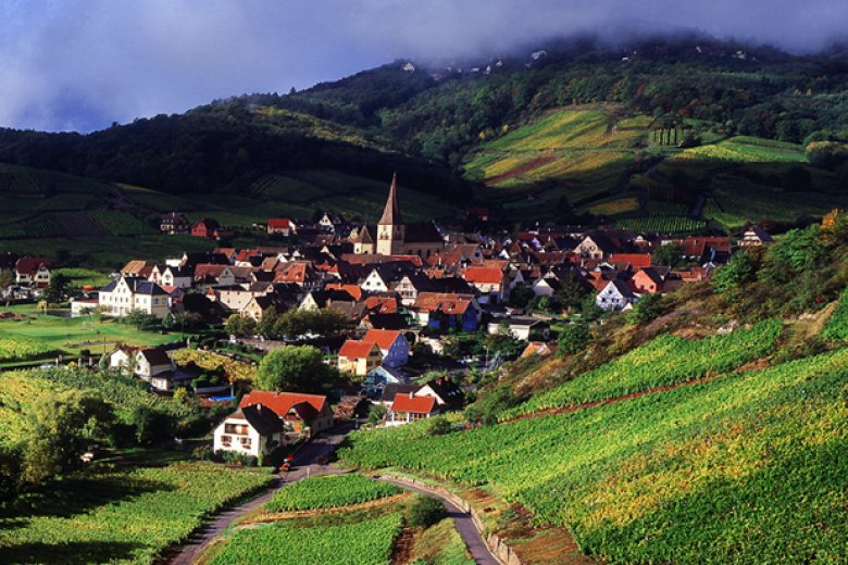 Typical village in Alsace © CRTA